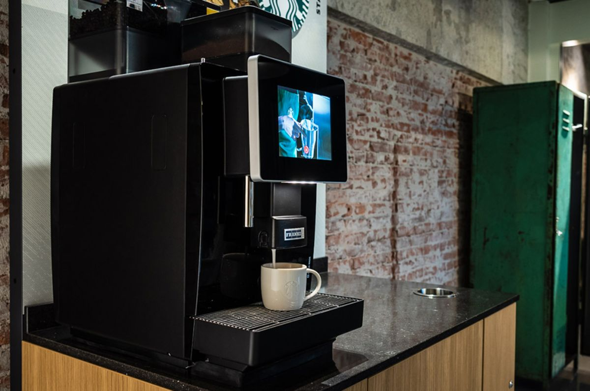 Starbucks on the go Workplace - State of the art Swiss espresso technology