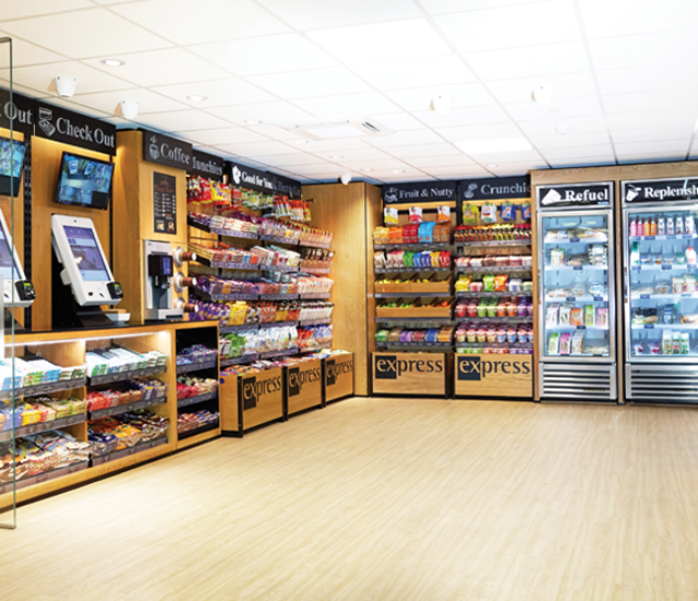 Express HUB MicroMarket - ideal for the workplace