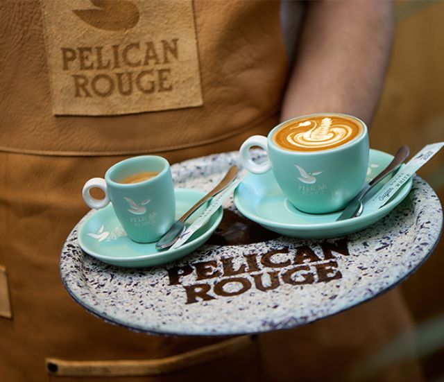 Natural collectie servies Pelican Rouge horeca